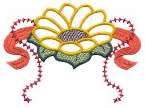 Single Sunflower ( Trapunto )