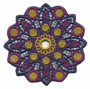 FSL - Floral Kaleidoscope ( Lace )