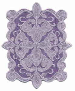 FSL - Victoria Tray Rectangle ( Lace )