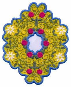 FSL - Floral Center Piece ( Lace )