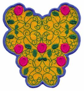 FSL - Floral Center Piece  #2 ( Lace )