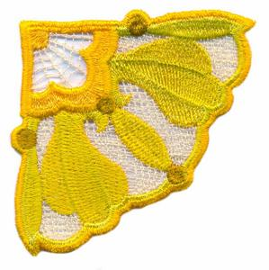 FSL - Brooch Design  # 2 ( Lace )