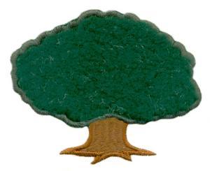 Tree Label Applique ( Quilting )