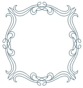 outline frame square hoop custom embroidery designs by stitchitize