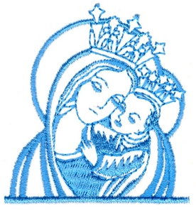 Christ and the Madonna