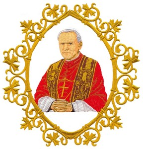 Pope John Paul II (Giga-hoop)