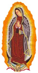 Our Lady of Gaudalupe (no border)