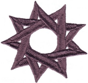 Baha' i Nine Pointed Star Symbol