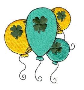 St. Patricks Day Balloons