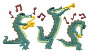 Alligator Musicians