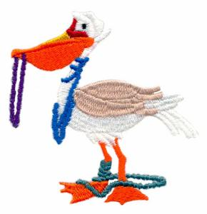 Pelican and Beads