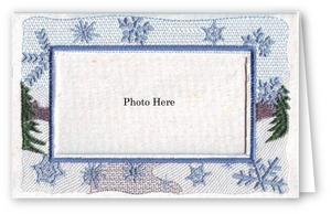 Winter Scene - Photo Greeting Card