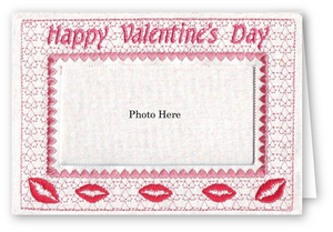 Valentine Kisses - Photo Greeting Card