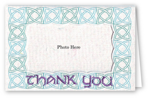 Thank You Celtic - Photo Greeting Card