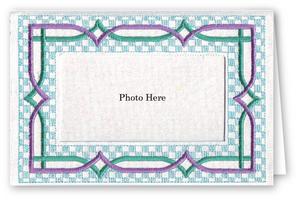 Checkerboard - Photo Greeting Card