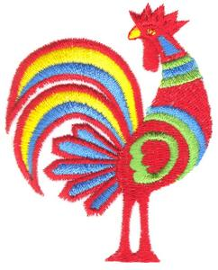 Artistic Rooster