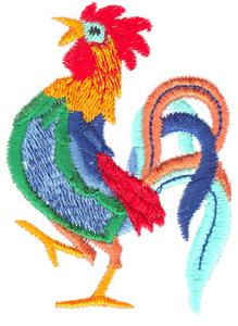 High Stepping Rooster