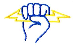 Lightning Bolt in hand - medium