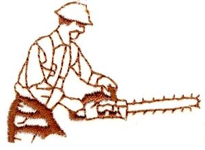 Man & Chainsaw