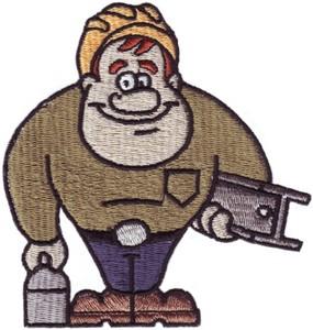 Construction Worker John