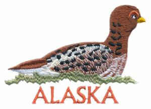 Alaska State Bird - Willow Ptarmigan