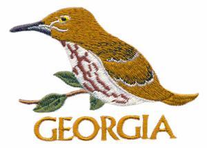Georgia State Bird - Thrasher