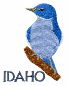 Idaho State Bird - Mountain Bluebird