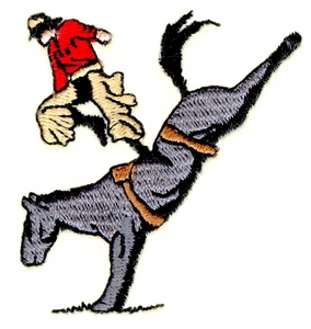 Bucked-off Cowboy
