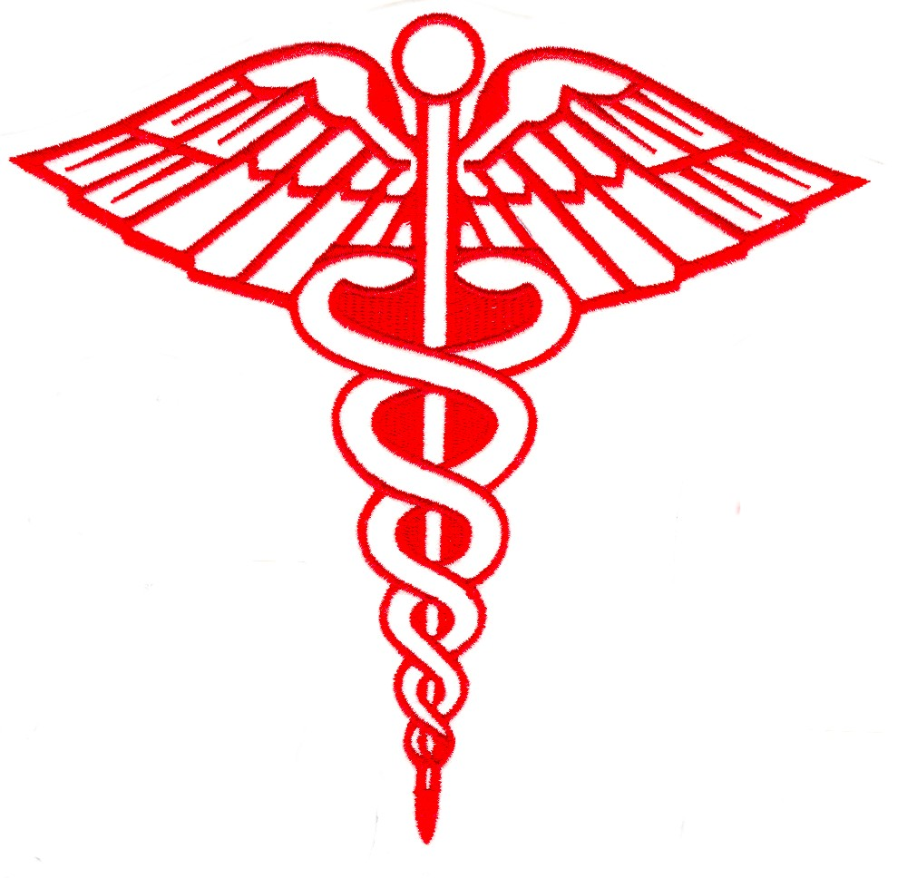 Medical Symbol Outline Custom Embroidery Designs By Stitchitize