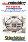 Microembroidery USA Patriotic