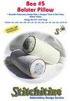 Bee #5 - Bolster Pillow