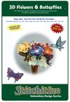 3D Flowers & Butterflies - Project CD