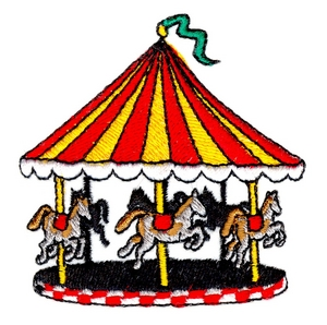 merry go round custom embroidery designs by stitchitize. Black Bedroom Furniture Sets. Home Design Ideas