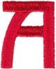 Arts & Crafts Alphabet  - A