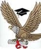 Eagle with Diploma