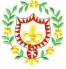 Floral Design with Crest