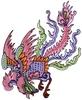 Phoenix Bird (Large - SQ Hoop)