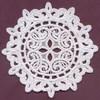 FSL - Lace Circle #1 - Italian Lace (freestanding)