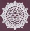 FSL - Lace Circle #3 - Italian Lace (freestanding)