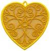 FSL - Scroll Heart Ornament (freestanding)
