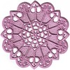 FSL - Daisy Hearts Round Lace Doilie (Freestanding)