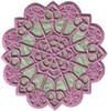 FSL - Daisy Hearts Round Lace Doilie (Large applique)
