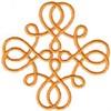 Chain Link Hearts (Cross)