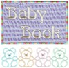 Baby Book Album Cover ( Applique )