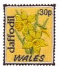 Wales Stamp ( Daffodil )