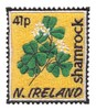 Northern Ireland Stamp ( Shamrock )