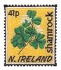 Northern Ireland Stamp ( Shamrock )