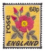 England Stamp ( Rose )