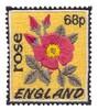 England Stamp ( Rose )