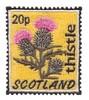 Scotland Stamp ( Thistle )